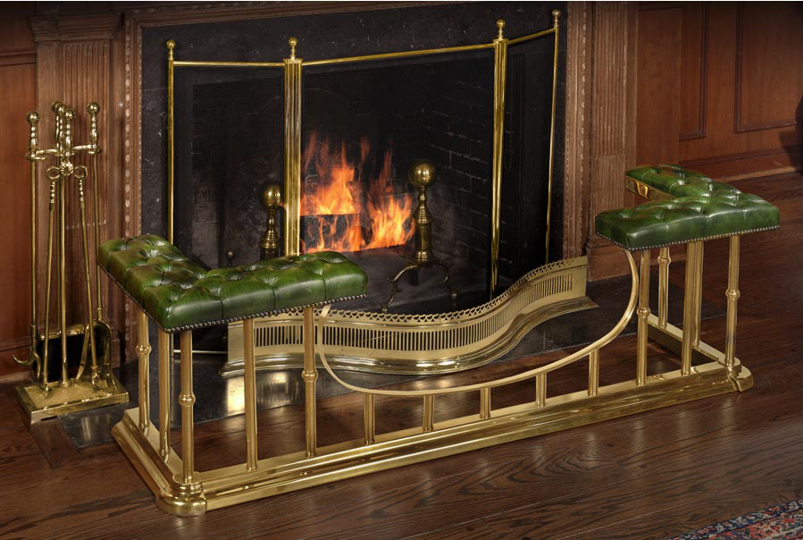 Regal Club Fender Fireplace Scully And