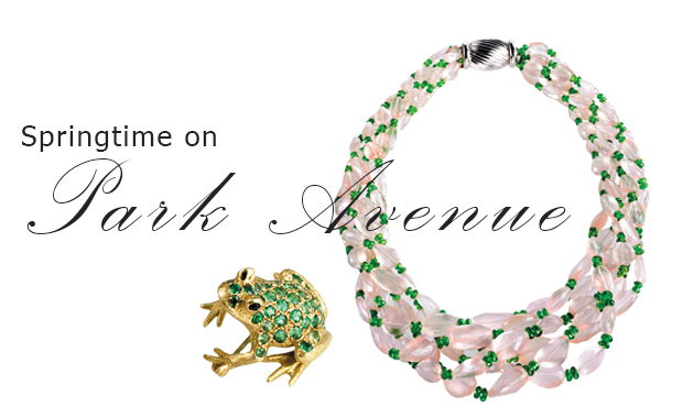 springtime on park avenue jewelry scully and scully