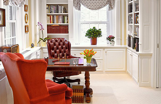DECORATING IDEAS FOR OFFICE SPACES