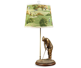 Hole in One Golf Lamp