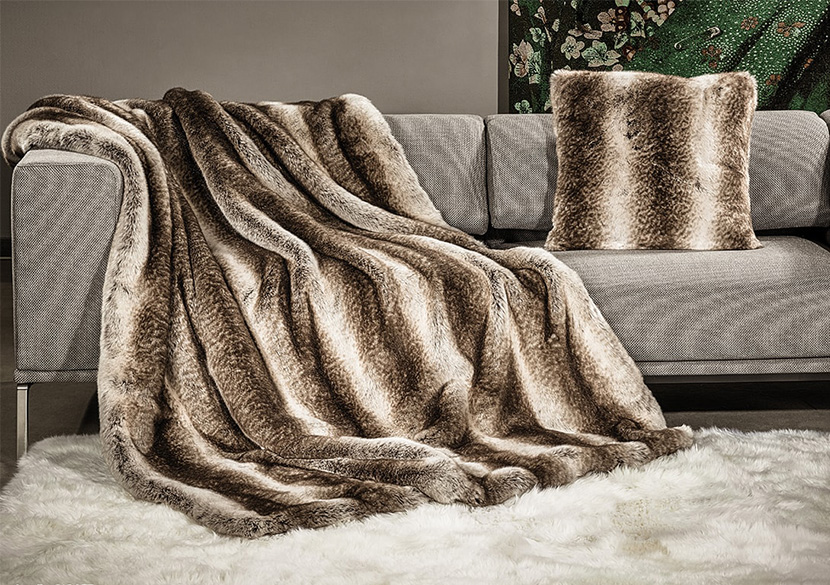 Luxury Faux Fur Throws