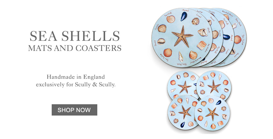 Sea Shells Mats & Coasters
