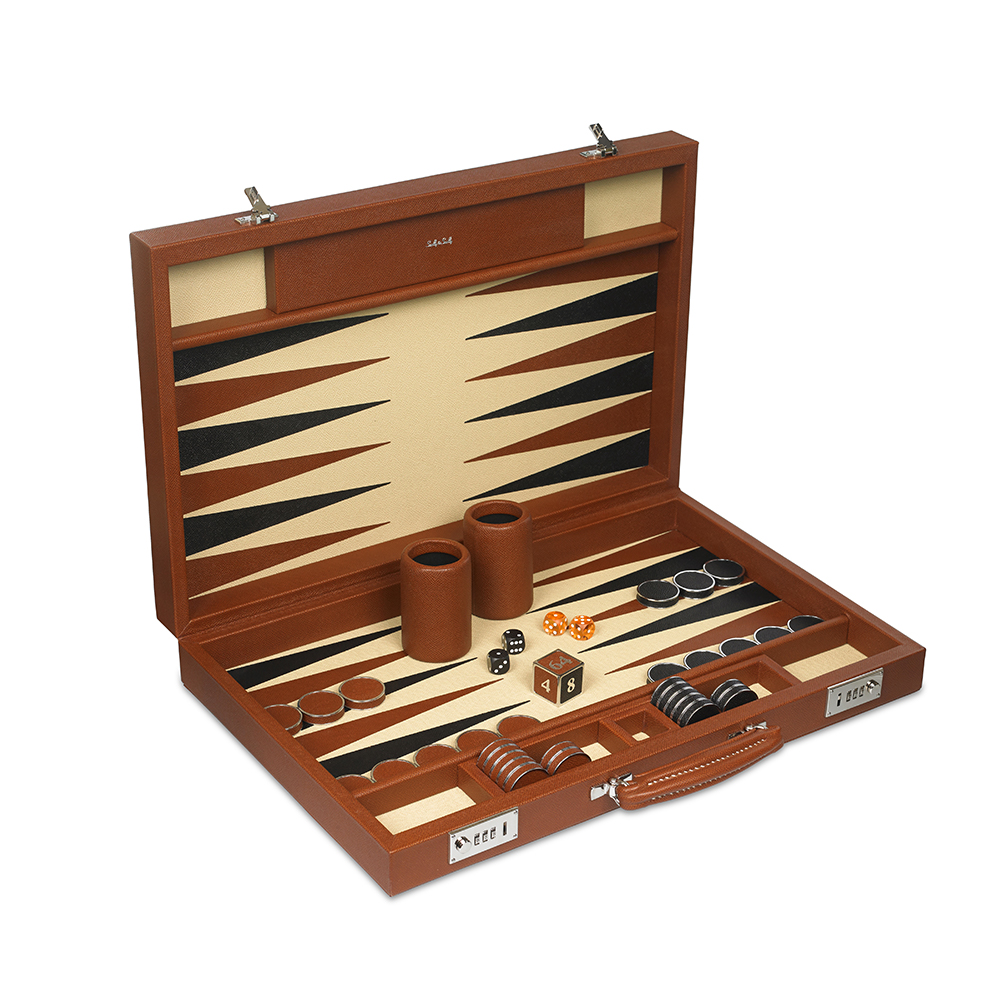Challenge Backgammon Sets | Luxury Board Games | Leather