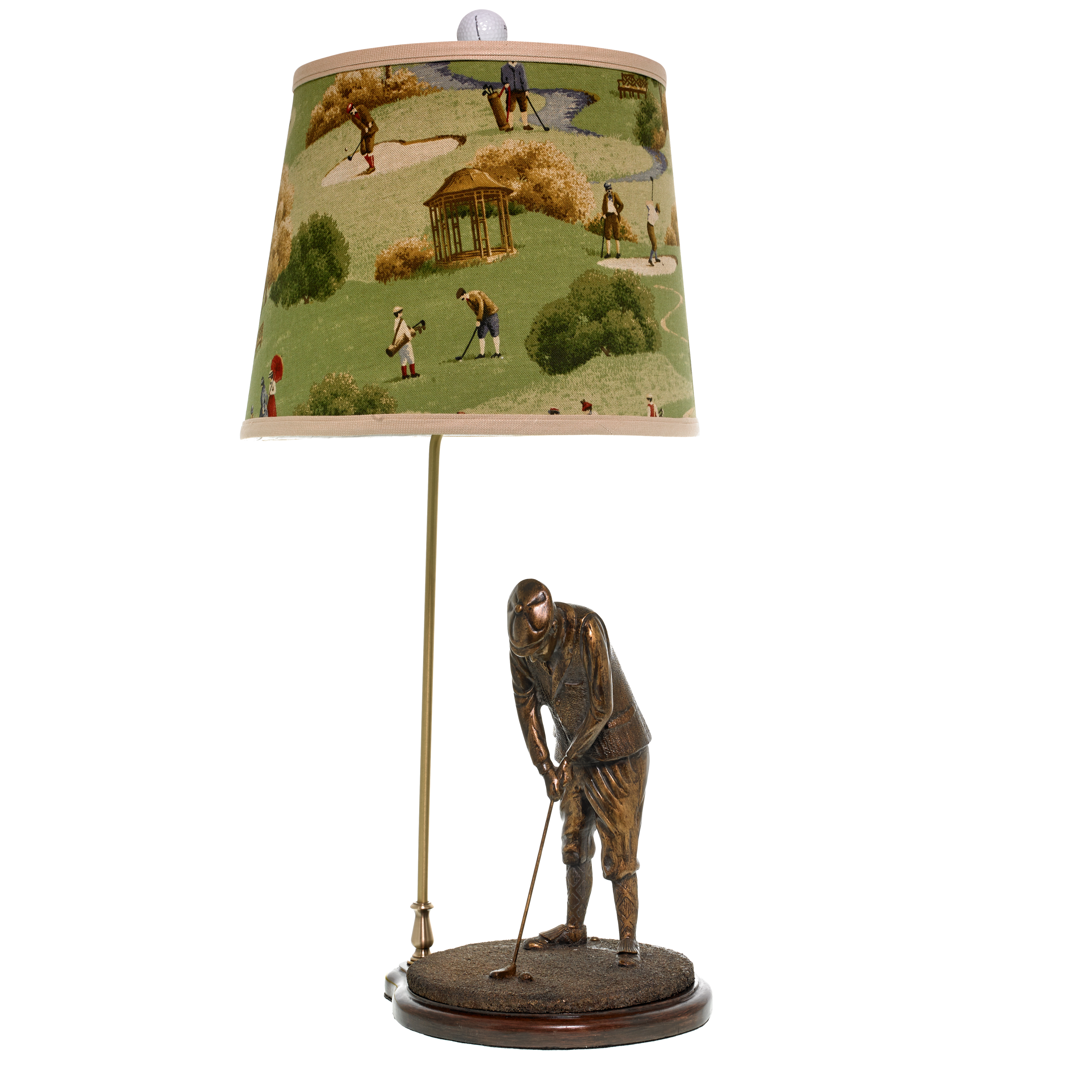 "Golfer ""Hole in One"" Lamp"