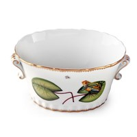 Anna Weatherley Seascape Waterlily Cachepot, Oval