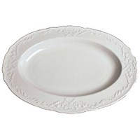 Anna Weatherley Simply Anna White Oval Platter