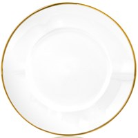 Anna Weatherley Simply Elegant Gold Dinner Plate