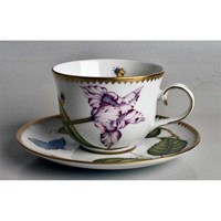 Anna Weatherley Studio Collection Cup & Saucer, Tulip