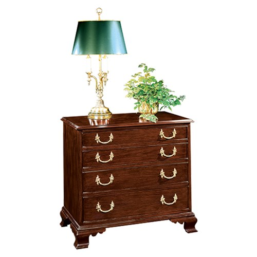 Mahogany Large Bedside Chest