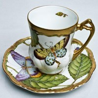 Anna Weatherley Summer Morning Demitasse Cup & Saucer