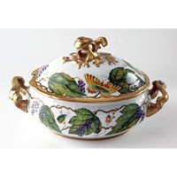 Anna Weatherley Wildberry Lavender Soup Tureen