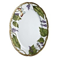 Anna Weatherley Wildberry Lavender Oval Platter
