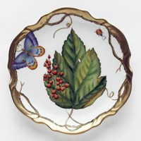 Anna Weatherley Wildberry Red Bread & Butter Plate