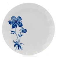 Royal Copenhagen Blomst Salad Plate, French Anemone