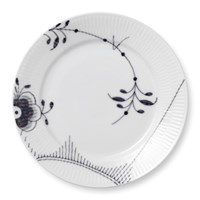 Royal Copenhagen Black Fluted Mega Plate, Large