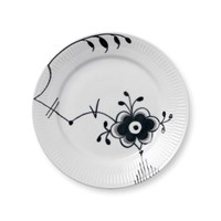 Royal Copenhagen Black Fluted Mega Salad Plate