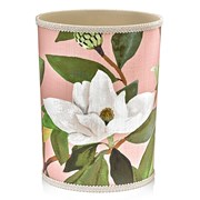 Magnolia Pink Wastebasket & Tissue Box Cover