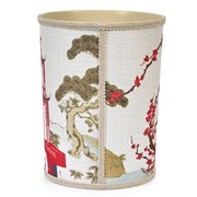 Teahouse Wastebasket & Tissue Box Cover