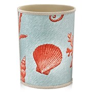 Coral Branch Wastebasket & Tissue Box Cover