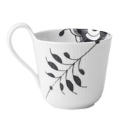 Royal Copenhagen Black Fluted Mega High Handle Mug