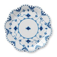 Royal Copenhagen Blue Fluted Full Lace Dish