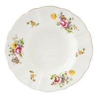 Royal Crown Derby Posie Rim Soup Bowl