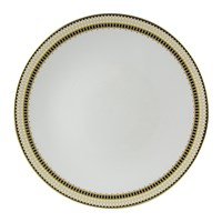Royal Crown Derby Oscillate Ochre Coupe Dinner Plate