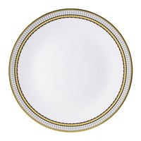 Royal Crown Derby Oscillate Onyx Coupe Dinner Plate
