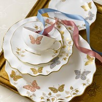 Royal Crown Derby Royal Butterfly 5 Piece Place Set