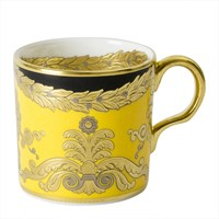 Royal Crown Derby Amber Palace Coffee Cup