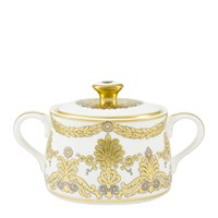 Royal Crown Derby Pearl Palace Covered Sugar Bowl