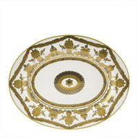 Royal Crown Derby Pearl Palace Oval Platter, Small
