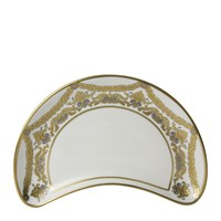 Royal Crown Derby Pearl Palace Crescent Salad Plate