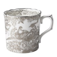 Royal Crown Derby Aves Platinum Coffee Cup