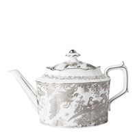 Royal Crown Derby Aves Platinum Teapot, Large