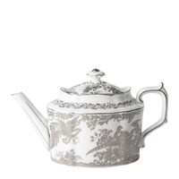 Royal Crown Derby Aves Platinum Teapot