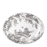 Royal Crown Derby Aves Platinum Oval Platter, Large