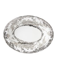 Royal Crown Derby Aves Platinum Open Vegetable Dish