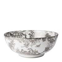 Royal Crown Derby Aves Platinum Salad Bowl