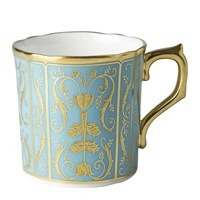 Regency Turquoise Coffee Cup