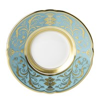 Regency Turquoise Coffee Saucer