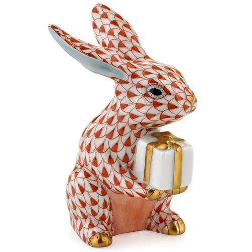 Herend Celebration Bunny, Rust