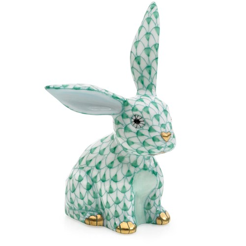 Herend Funny Bunny, Green