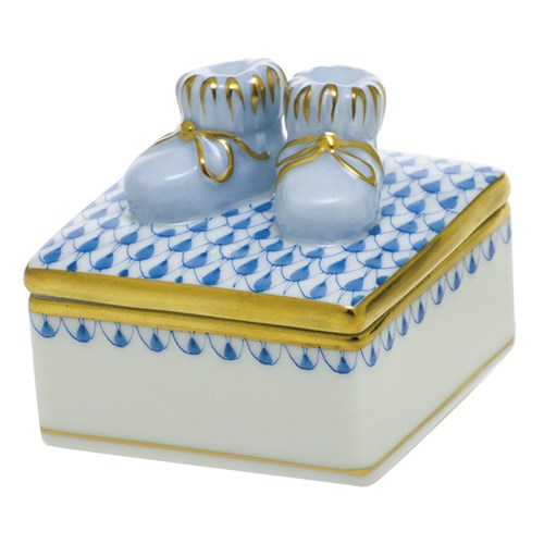 Baby Bootie Box, Blue