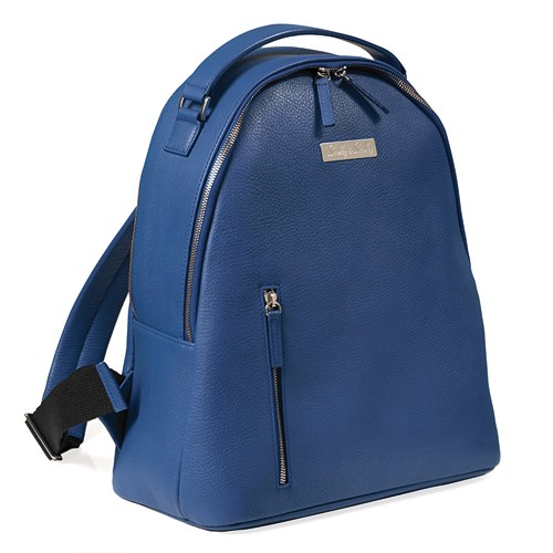 Donna Leather Backpack, Blue