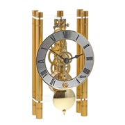 Pendulum Table Clock, Gold