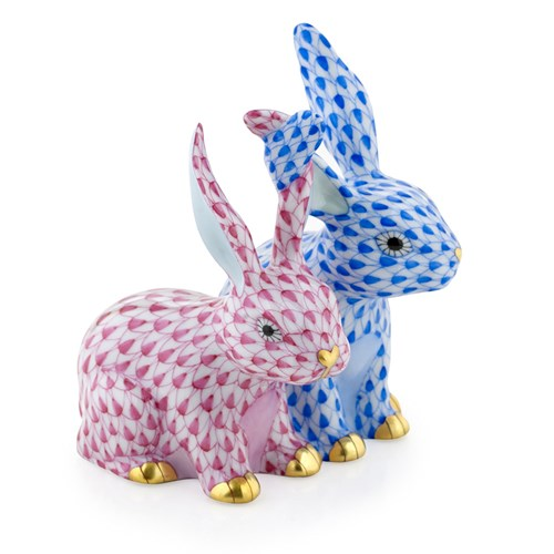 Twisted Bunnies, Sapphire & Raspberry (Exclusive)