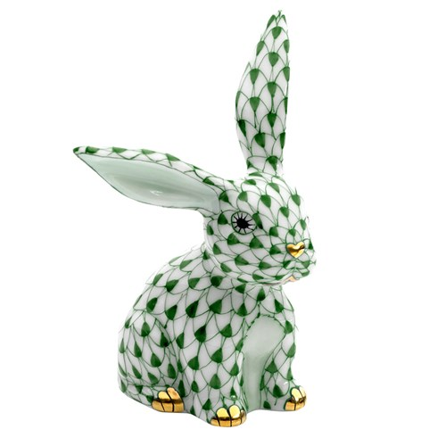 Herend Funny Bunny, Forest Green