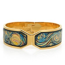 Freywille Vincent van Gogh Éternité Contessa Clasp Bangle