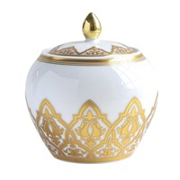 Bernardaud Venise Covered Sugar Bowl